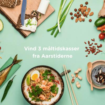 Hvis du kan gætte de tre retter, som vores kunder i 2020 har kåret som deres favoritter, har du muligheden for at vinde 3 måltidskasser fra Aarstiderne – leveret lige til døren.